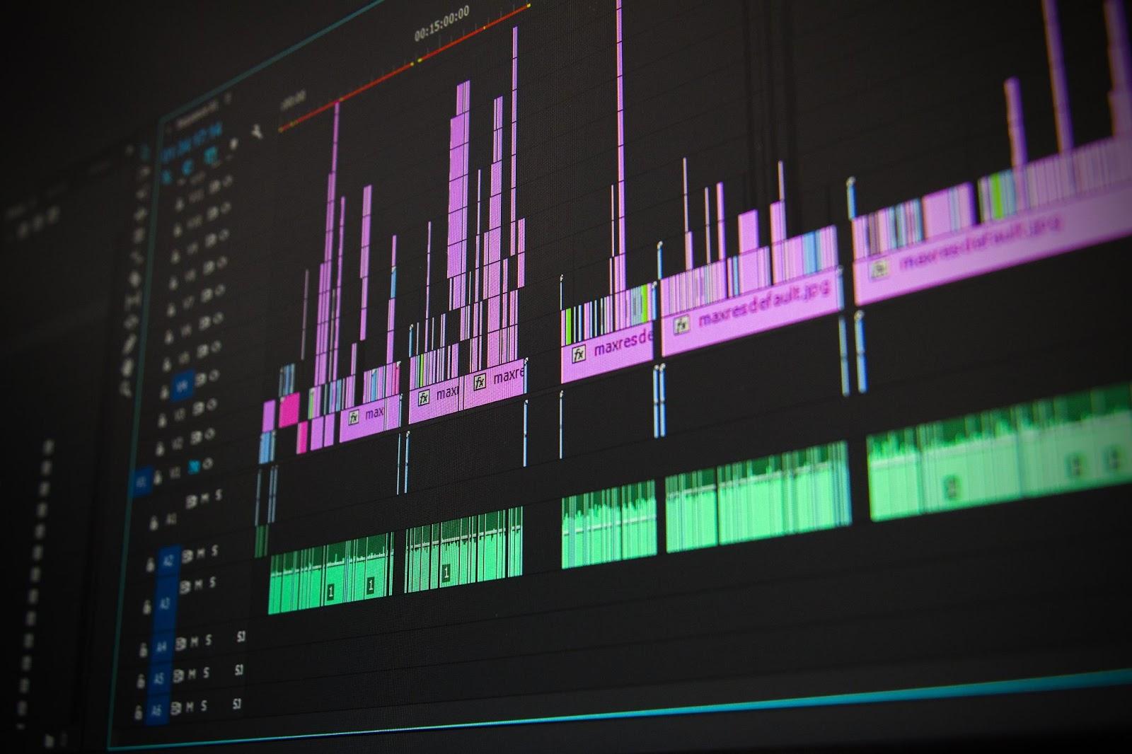 preparación previa para la grabación de vídeo
