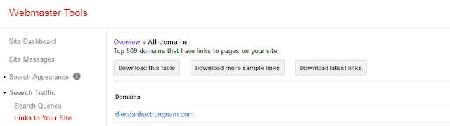 Các bước chặn backlinks xấu hiệu quả bằng google webmaster Tool