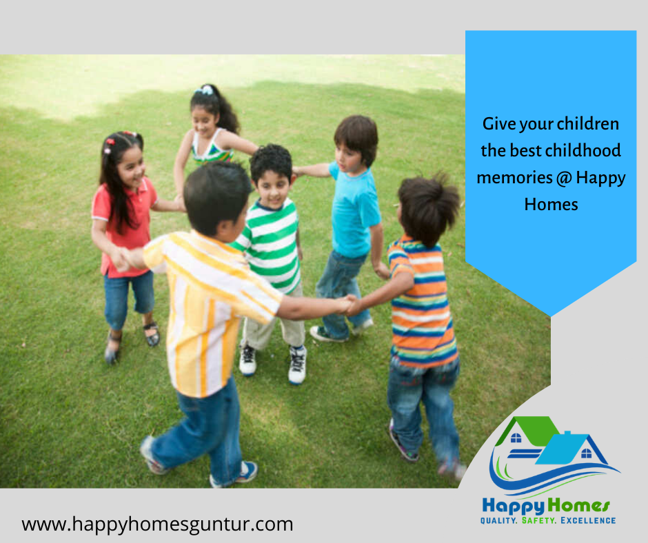 Children play area - Happyhomes Guntur