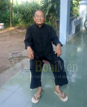 Ông Trần Công Cẩm, 79 tuổi