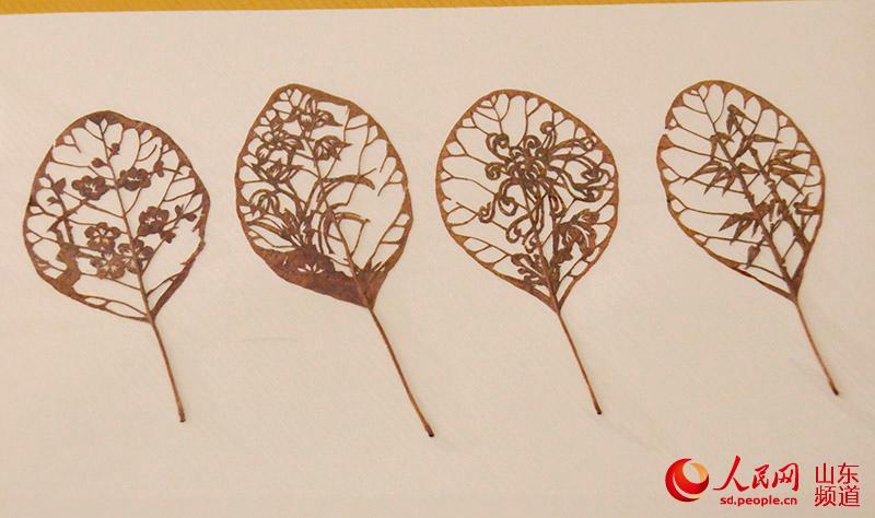 листья, Китай