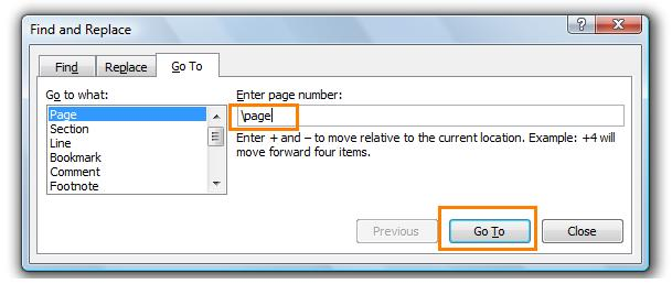 How to delete a page or blank page from the Microsoft word