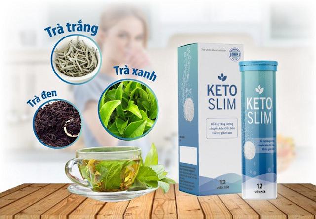 Viên sủi giảm cân Keto Slim an toàn với sức khoẻ của người sử dụng