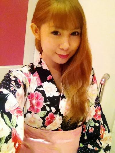 Japanese kimono yukata