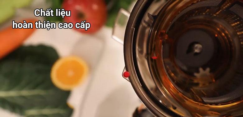 Máy ép trái cây Kuvings NS-625CBS2 Màu Vàng Champagne (CG_M) | Chất liệu hoàn thiện cao cấp