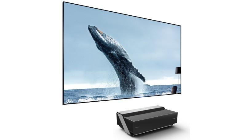 Hisense 100-Inch 4K Ultra HD Smart Dual Color Laser TV (100L10E)
