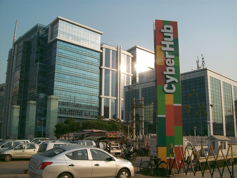 Gurgaon abriga muitas empresas de tecnologia e é conhecida como a