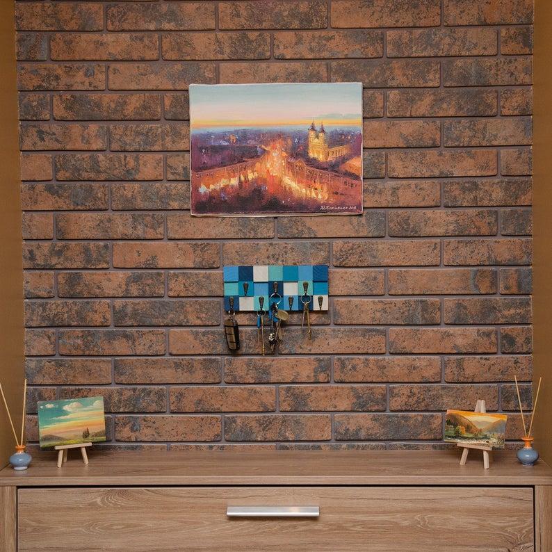 Handmade Wall Key Holder
