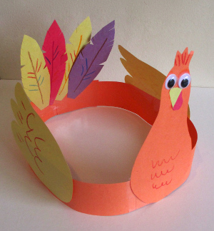 Turkey Headband: These 25 Thanksgiving Crafts for Kids will get everyone into the thanksgiving spirit.