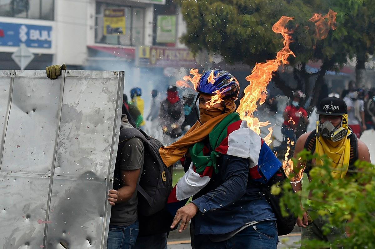 violência na colômbia