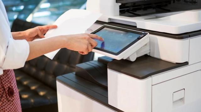 Máy photocopy được cấu tạo từ trống, lô sấy, lô ép…