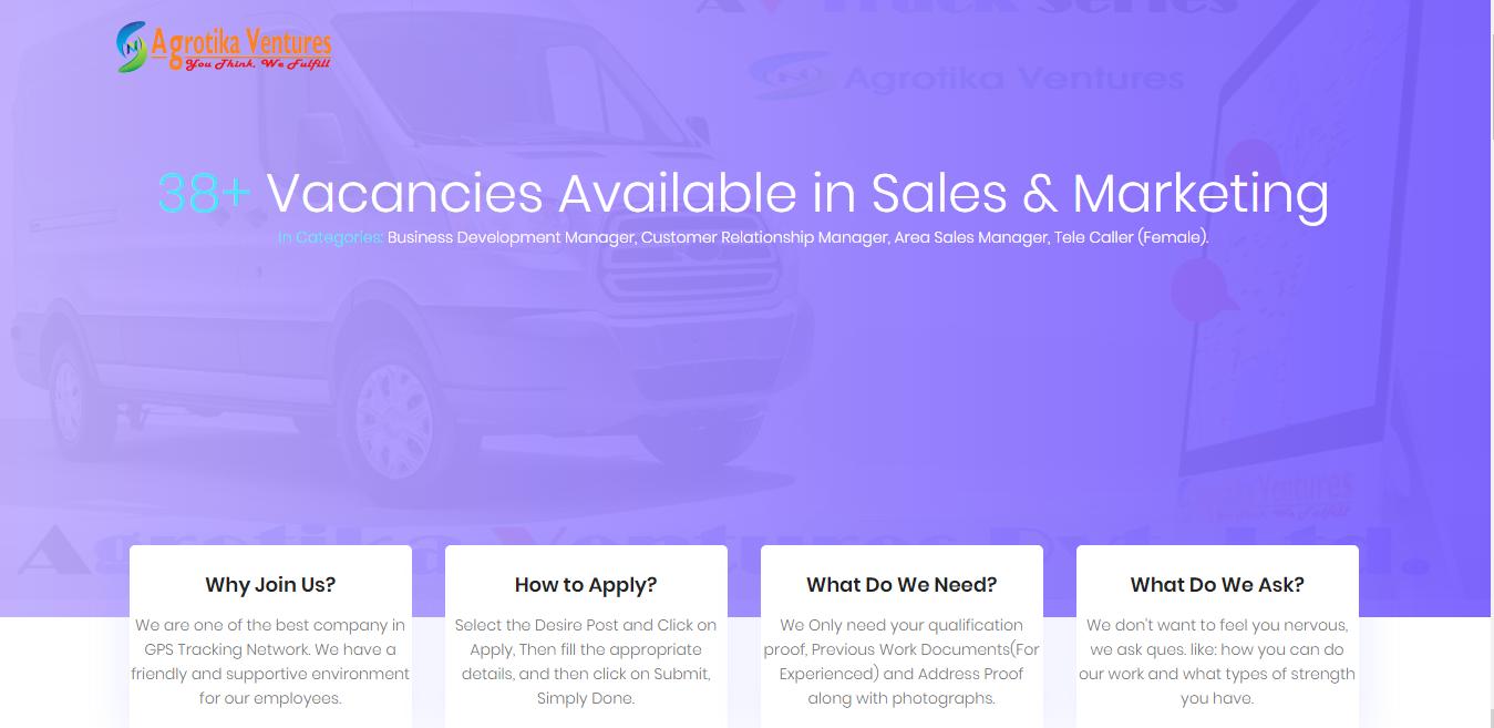 Careers @Agrotika Ventures