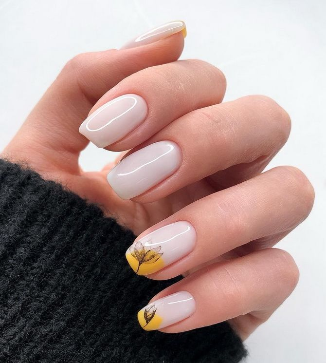 manicure for short nails 2020 spring