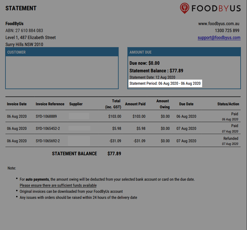 FoodByUs_dashboard_statement_and_invoices_sample_single_invoice