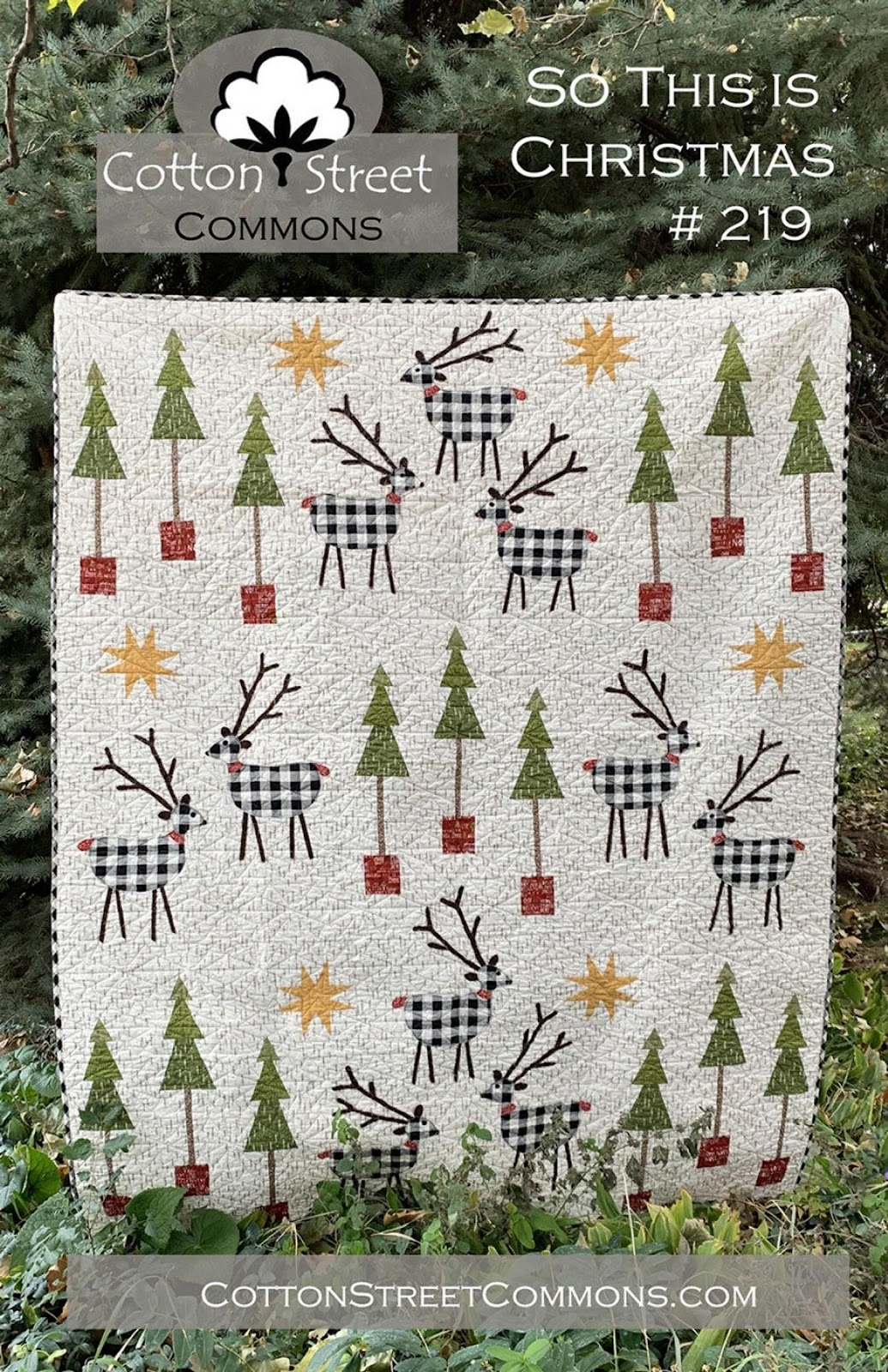 So This Is Christmas Quilt