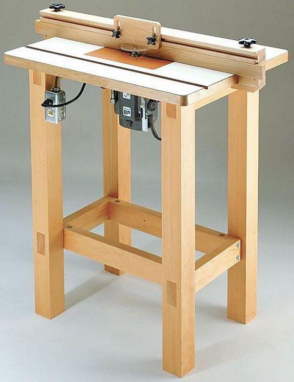 Фрезерный стол из старой табуретки
