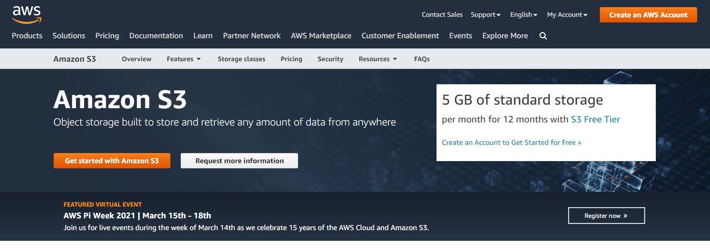 Amazon S3 Cloud Backup Solutions