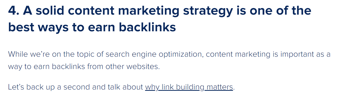 why link building matters