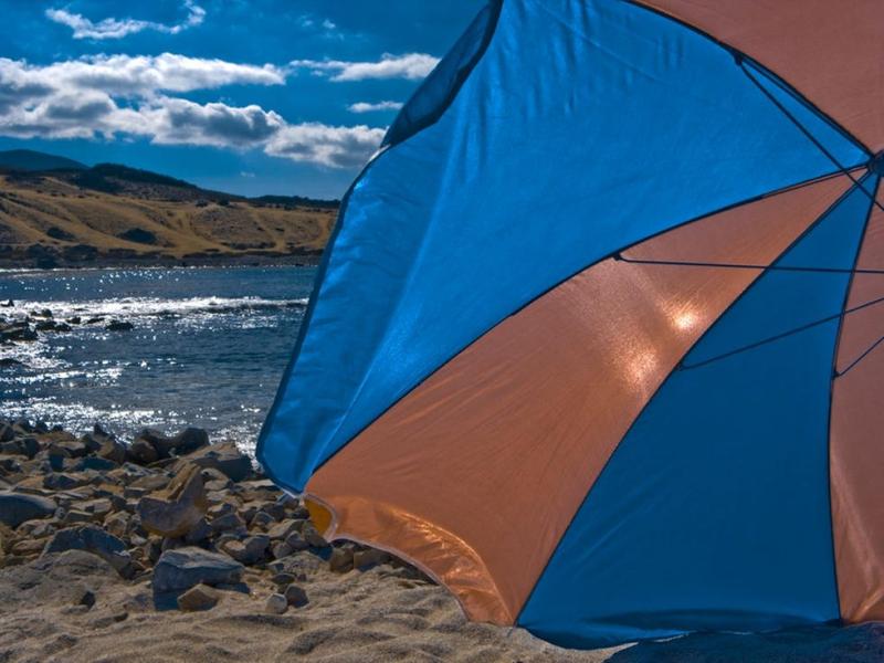 Playa las Tacas, playas de chile