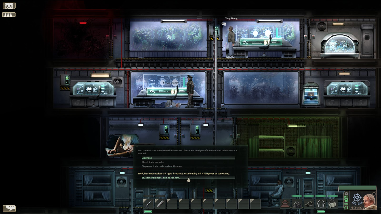 Barotrauma research outpost and scripted event