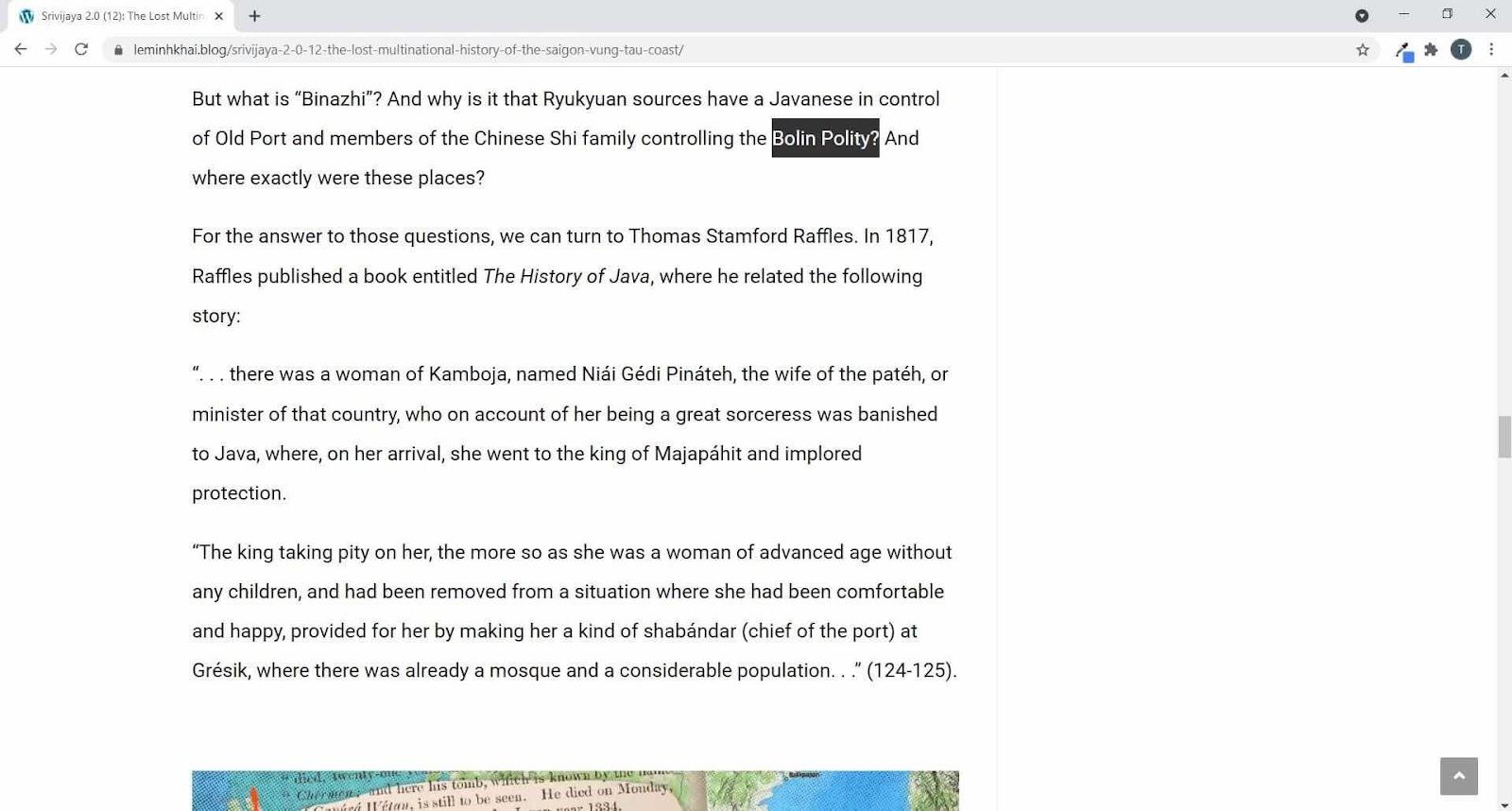 Về Tam Phật Tề 三佛齊 có là Cao Miên như thầy Liam Kelley khẳng định không ?