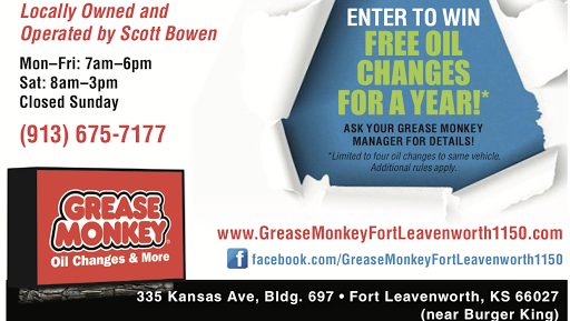 c1be475c0f5 Grease Monkey - Oil Change Service in Fort Leavenworth