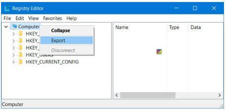 QuickBooks Error 61689 : registry editor