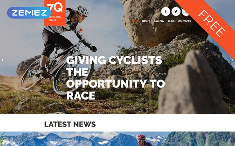 лучший бесплатный сайт шаблона темы ботстрапа открытый магазин велосипедного снаряжения электронная коммерция