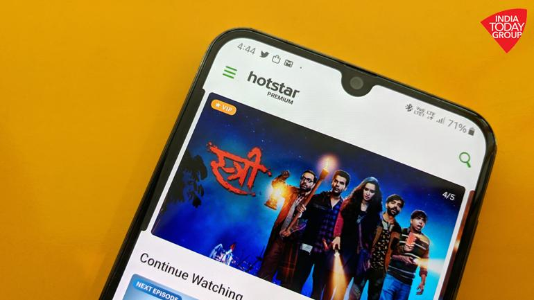 Hotstar has a user-friendly interface