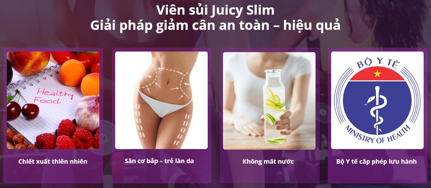 đặc điểm của Juicy Slim