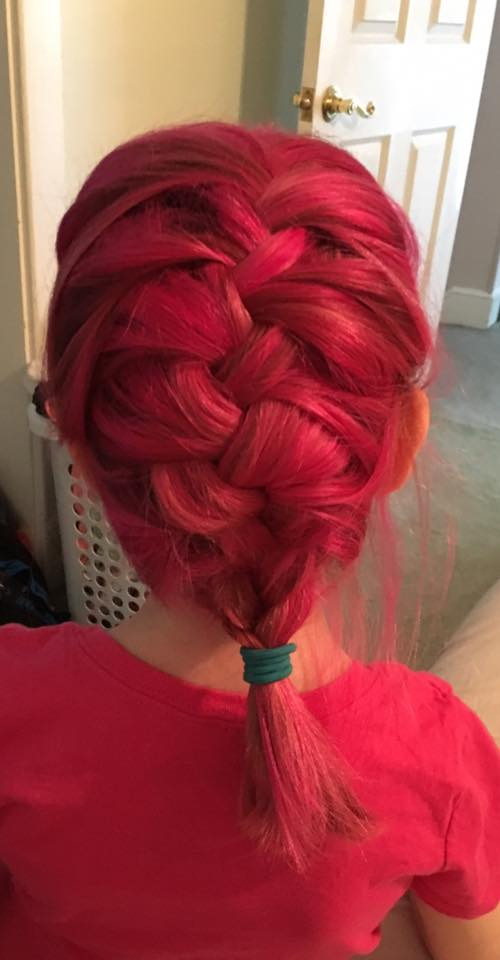 Kids can have pink hair! (image credit: Rebekah Brinner)