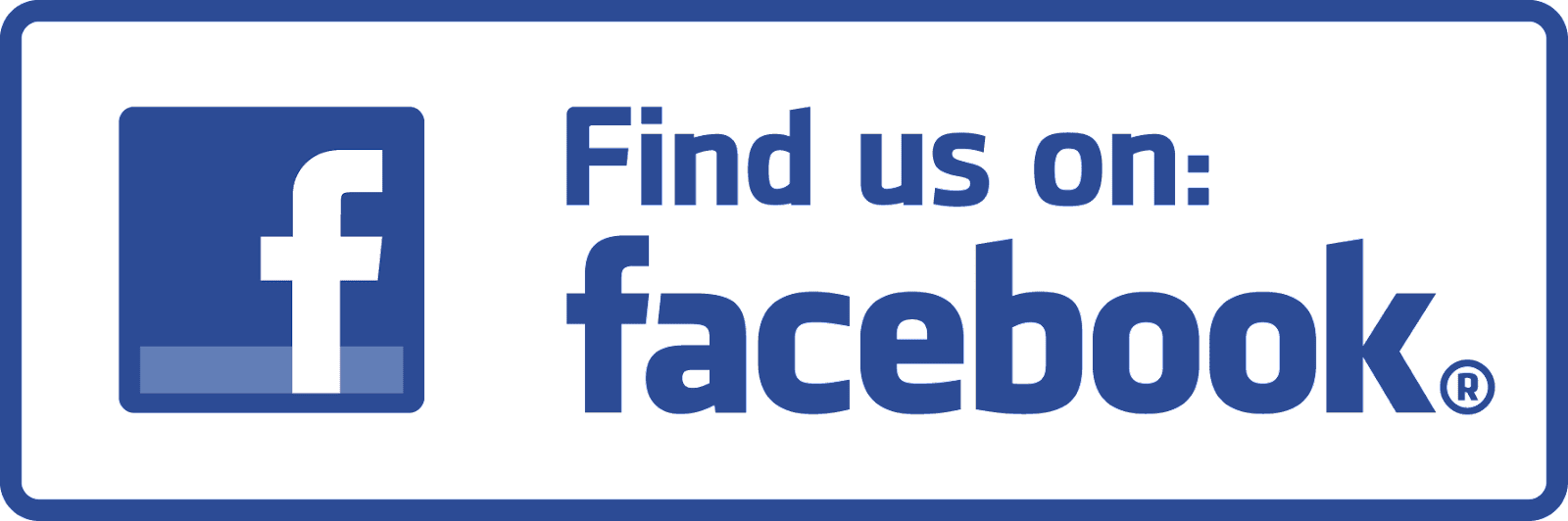 Image result for find us on facebook logo