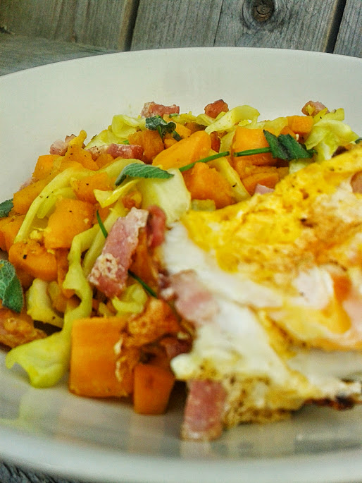 Easy healthy recipes: Ginger sweet potato hash