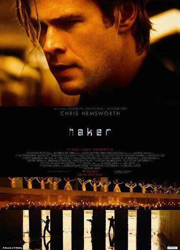Polski plakat filmu 'Haker'