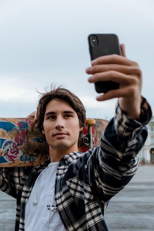 Vlogger Selfie