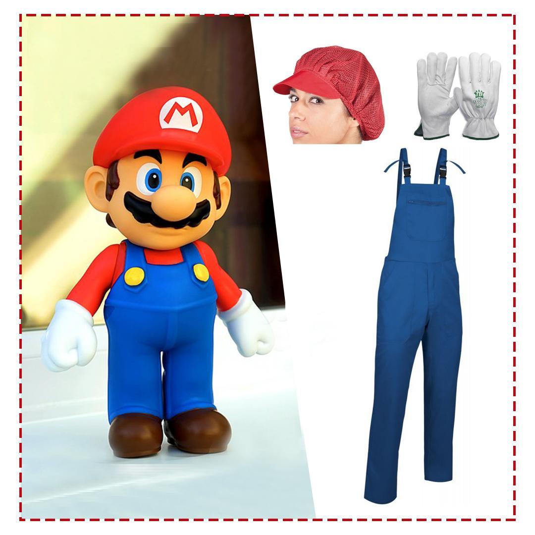 Disfraz casero para carnaval de Super Mario