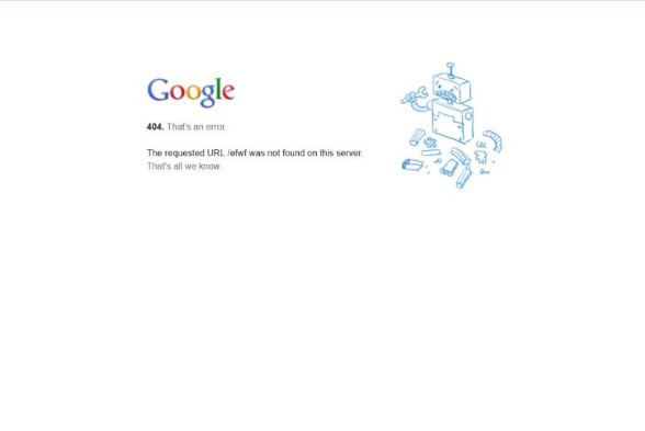 Lỗi 404 cũng là nguyên nhân hàng đầu