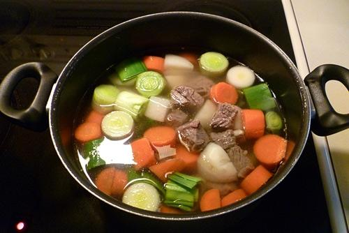 Cách nấu súp bò  - 5