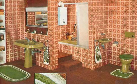 1970s style bathroom