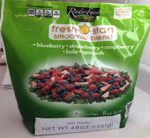 Rader Farms Fresh Start Smoothie Blend - 1361 grams
