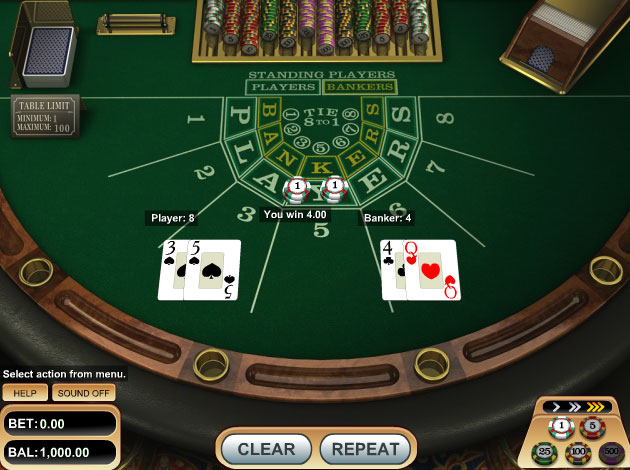 Video Baccarat