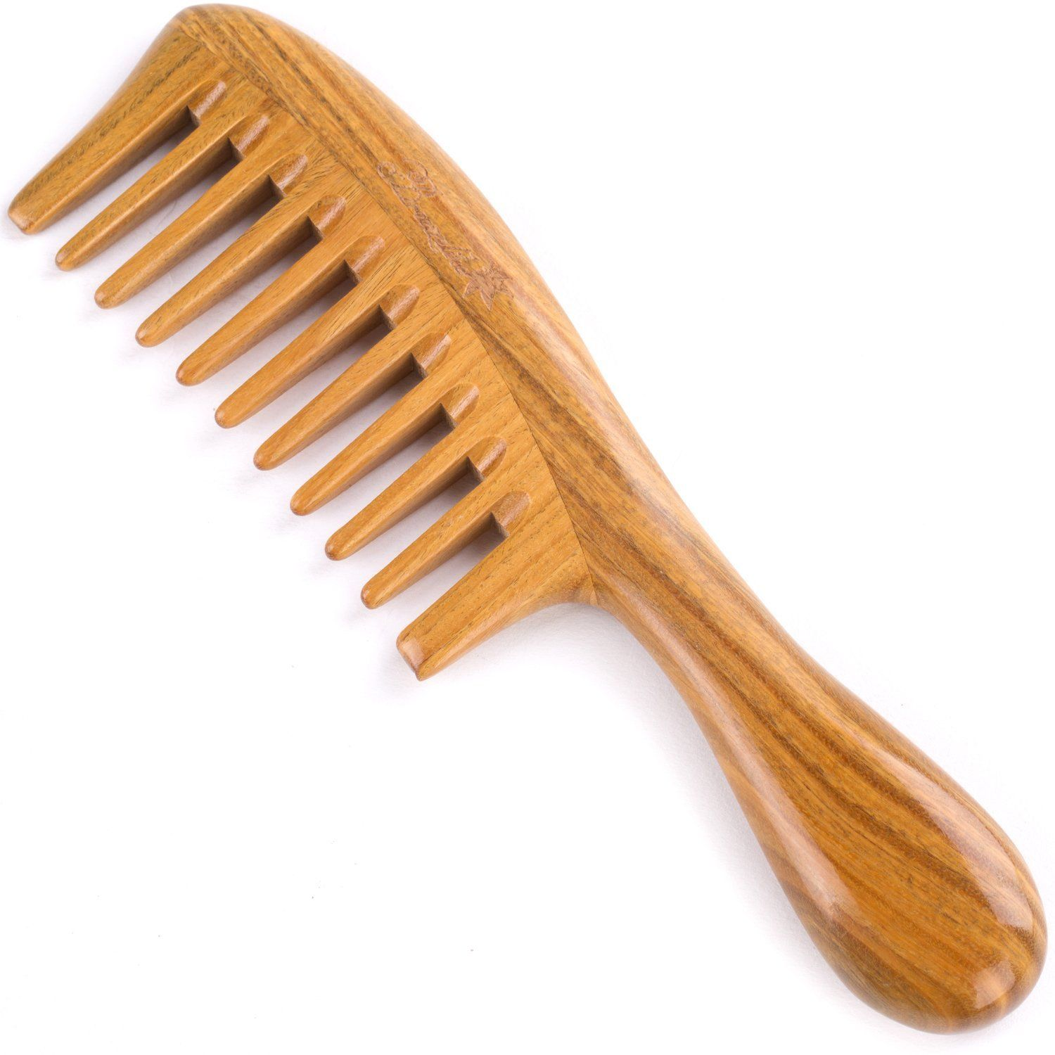 Use a wide-tooth comb to detangle
