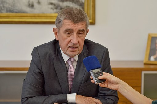 Man sitting in a interview