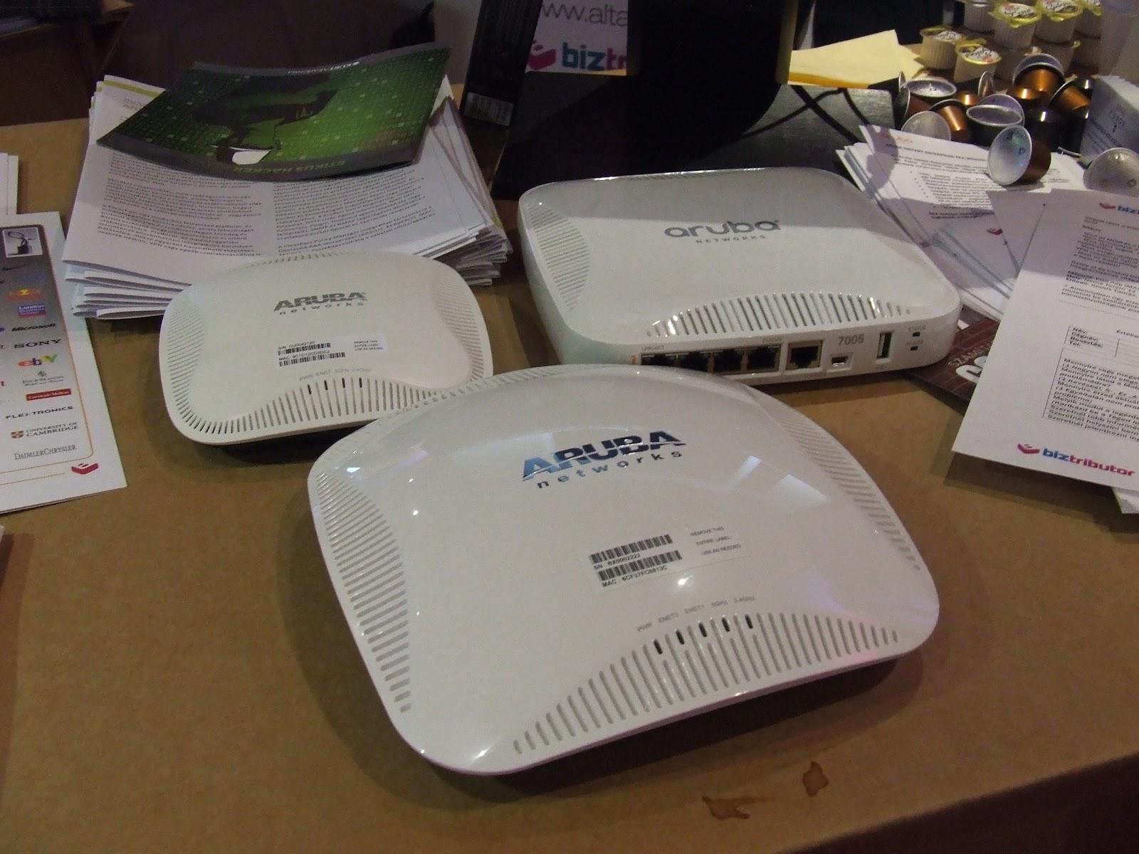 Aruba Wi-fi Router