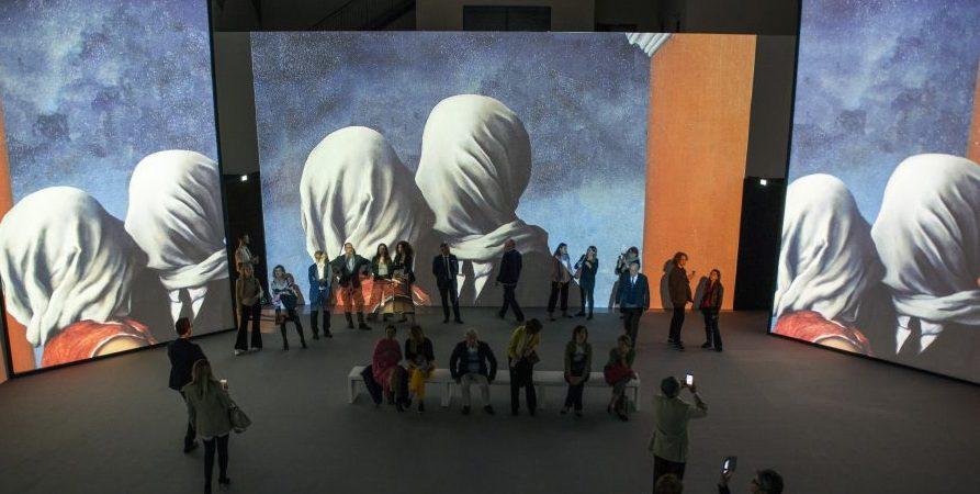 Мультимедийная выставка Рене Магритта