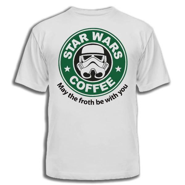 футболка с печатью star wars фото