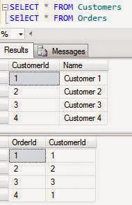 Lấy dữ liệu từ Customers