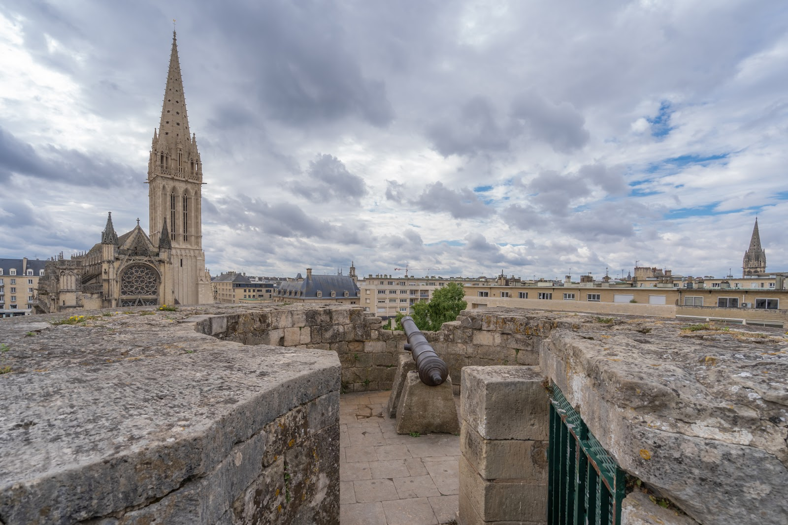 Caen, ville médiévale