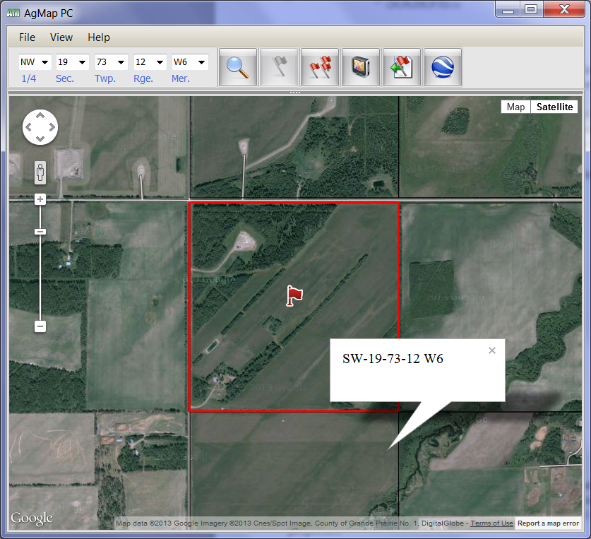 AgMap PC Farm Finder for Western Canada