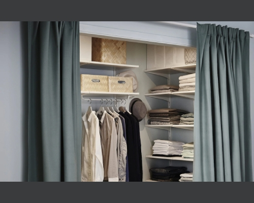 Curtained Storage